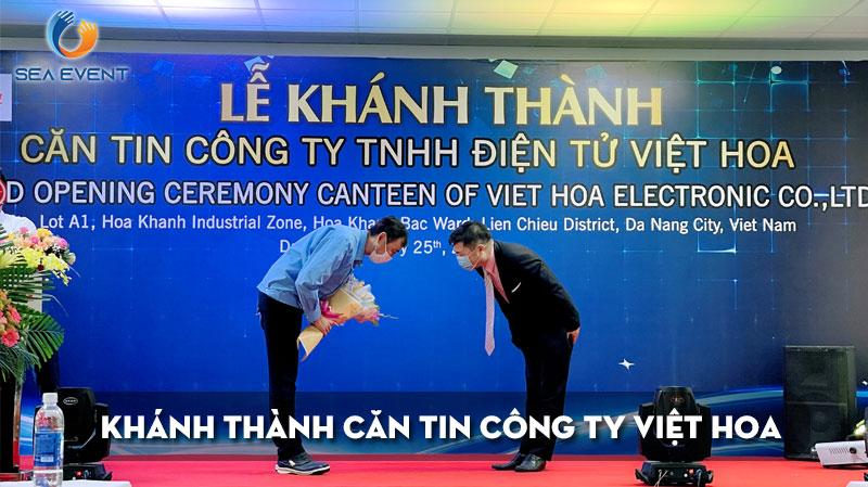 khanh-thanh-can-tin-cong-ty-tnhh-dien-tu-viet-hoa